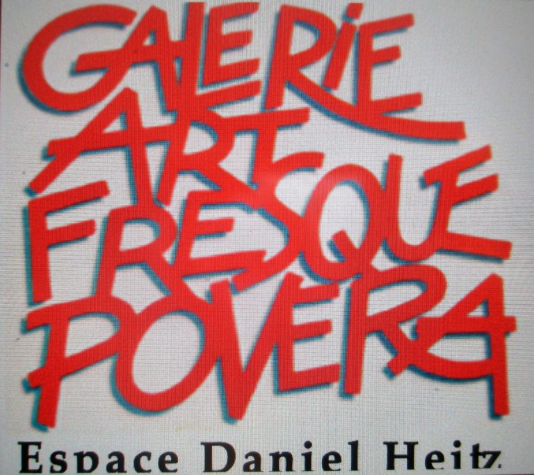 Exposition Galerie Art Fresque Povera Sommieres