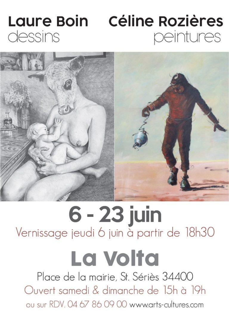 Exposition à la Galerie La Volta