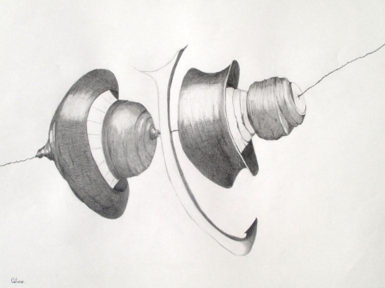 Crayon graphite sur papier. 59X42 cm. 2019.